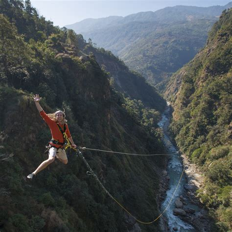 worlds highest swing free fall from the world s highest canyon swing the last