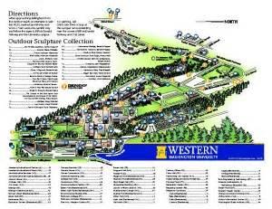 Western Washington University Map by Western Washington University Campus Map International