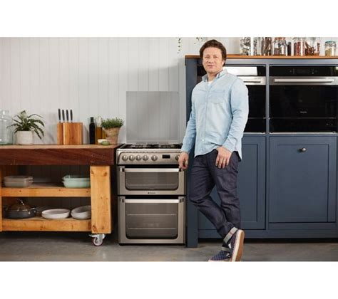 Oven Gas Stenless Uk 60 buy hotpoint ultima hug61x 60 cm gas cooker stainless