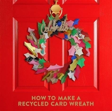 How To Make Garland Out Of Paper - diy card wreath 183 how to make a paper wreath