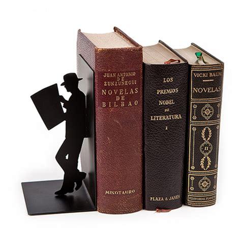 libro the reader sujeta libros the reader de color negro de metal