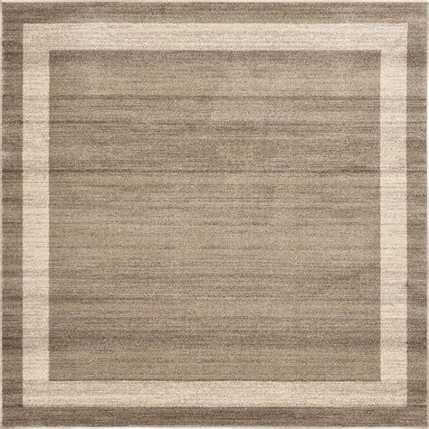area rug square light brown 245cm x 245cm loft square rug area rugs