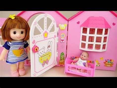 rag doll slang baby doll house play