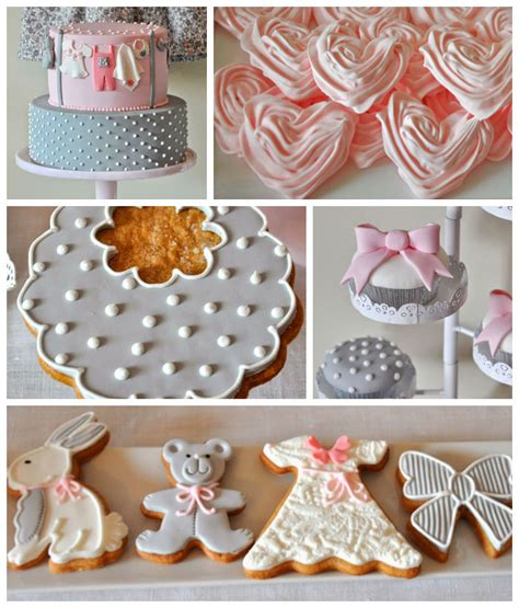 Gray And Pink Baby Shower by Kara S Ideas Pink Gray Baby Shower Ideas Decor Favors Planning