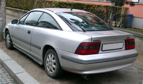 opel calibra file opel calibra rear 20071212 jpg wikimedia commons