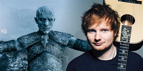 ed sheeran game of throne ed sheeran reveals game of thrones cameo screen rant