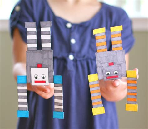 robot craft for 13 robot crafts your will beg to make artsy craftsy