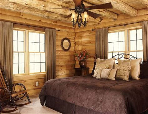 Pine Log Bedroom Furniture planning a classic log cabin in ohio