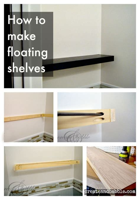 how to make your own bookshelves best 25 how to make floating shelves ideas on floating wall shelves industrial