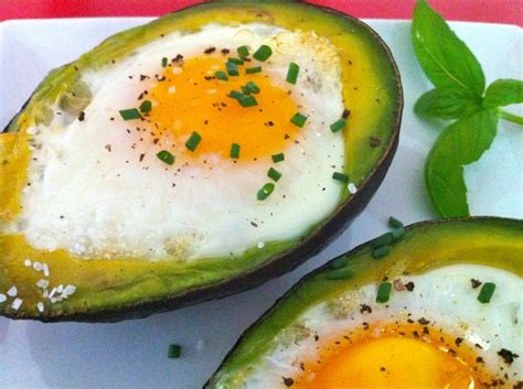 maryann s healthy tips baked avocado egg