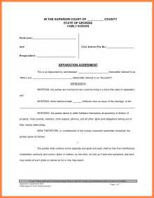 divorce template doc 700934 divorce paper template divorce forms free