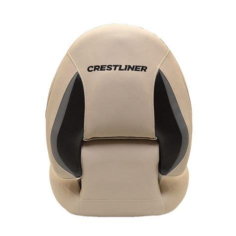 crestliner boats seats crestliner 2008062 wise pro tan centric boat folding