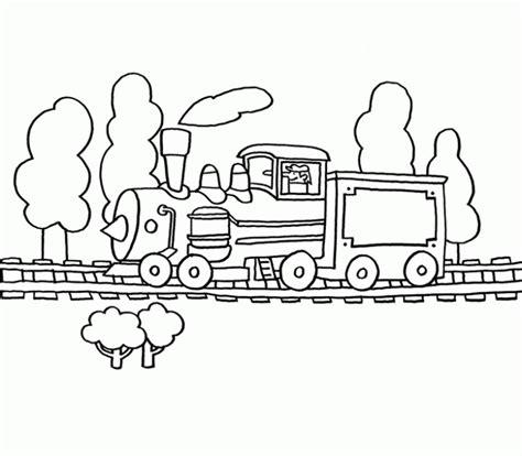 imagenes infantiles para colorear de trenes dibujo tren infantil imagui