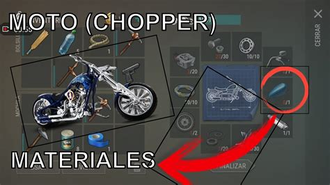 pattern chopper last day on earth moto chopper materiales last day on earth survival