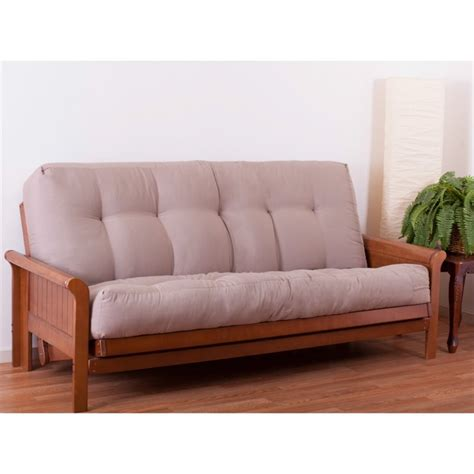 futon sizes blazing needles 10 quot full size mattress micro suede futon mattresse ebay