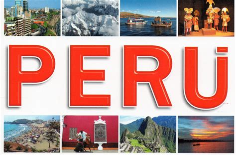 Greetings From Peru 2 by Theperuexperience Postcard From Peru