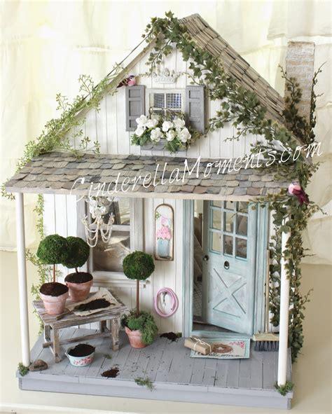 cinderella doll house cinderella moments shabby blythe custom dollhouse