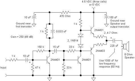 simple transistor guitar lifier lankatronic ල ක ට ර න ක ඇම ල ෆයර පර පත circuit