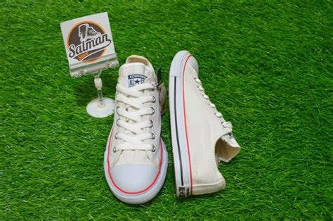 Sepatu Converse Slim Low sepatu converse all slim low putih lis biru merah