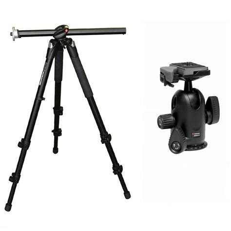 manfrotto 055xprob tripod including 498rc4