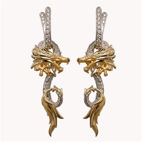 dragon boat earrings dragon themed jewelry for dragon boat races