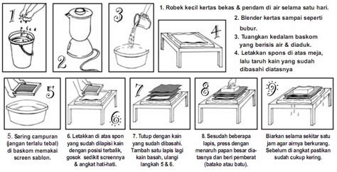 teks prosedur membuat kertas daur ulang salman goes green tutorial membuat kertas daur ulang