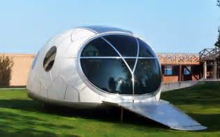 space house mercuryhouseone space age solar powered pod house unveiled inhabitat sustainable design