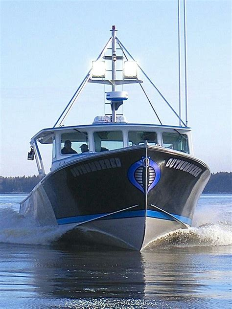 maine fishing boat builders build by me in boricua custom boats in downeast maine