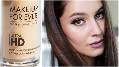 Make Up Forever Hd make up for ultra hd impressions foundation