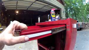 snap on tool chest drawer removal how to