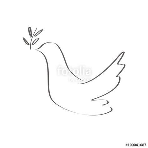 imagen blanco y negro en corel quot paloma de la paz blanco y negro quot stock image and royalty