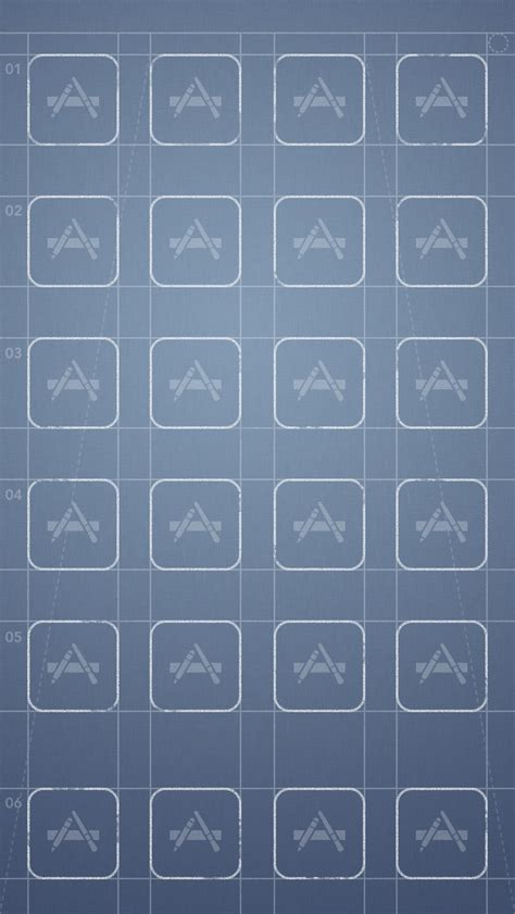 ios 7 iphone wallpaper template the grid iphone wallpapers