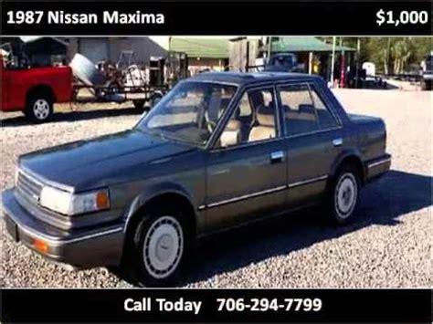 Used Auto Augusta Ga 1987 Nissan Maxima Used Cars Augusta Ga