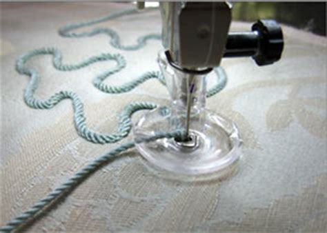 bernina couching foot get creative with bernina sew it yourself with projects