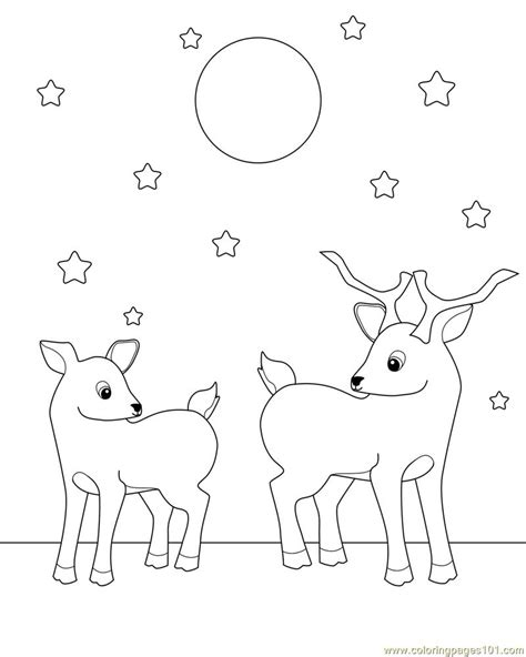 deer coloring pages for adults go back images for baby