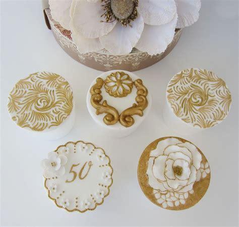 Cupcake Wedding Anniversary 50th wedding anniversary cupcakes cakecentral