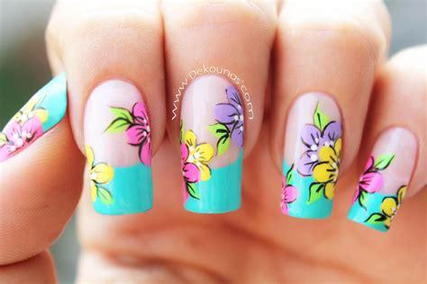 imagenes de uñas pintadas pinceladas decoraci 243 n de u 241 as flores deko u 209 as moda en tus u 241 as