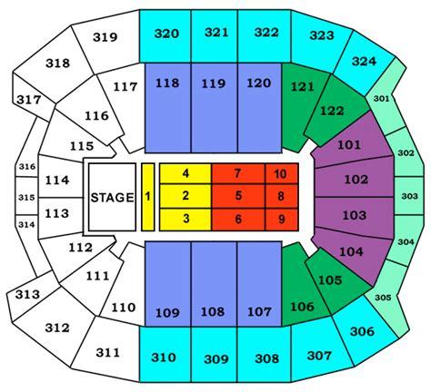 air canada centre floor plan acc concert floor seating