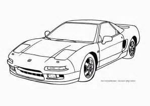 cool car coloring pages cool car coloring pages for boys acura nsx page 467678