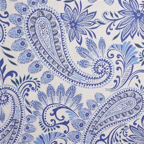 Blue Paisley Shower Curtain by Blue Paisley Navodari Shower Curtain World Market