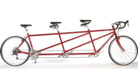 three seat tandem bicycle