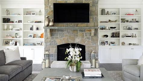 living room built ins living rooms home fireplace
