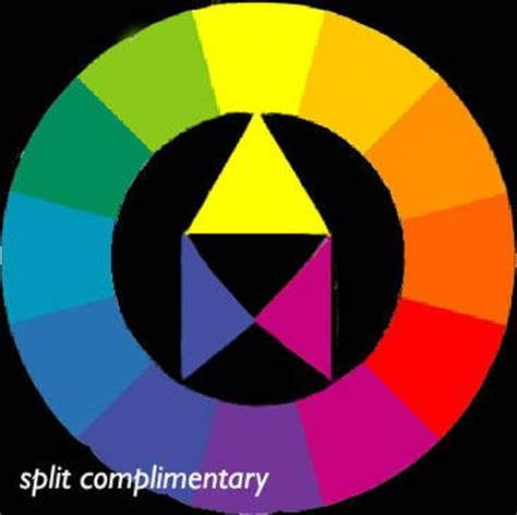 split complementary color scheme split complementary color scheme color addict pinterest