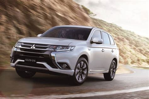 mitsubishi outlander phev 2016 mitsubishi outlander phev revealed more refined