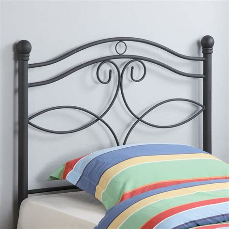 black headboard twin shop coaster fine furniture black twin headboard at lowes com