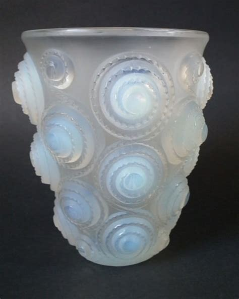 the opalescent books rene lalique opalescent glass spirales vase