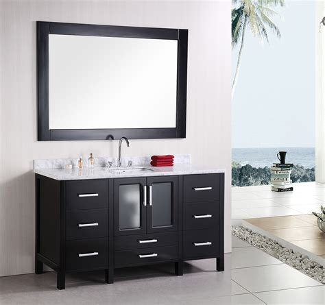 "60"" Stanton (B60 DS) Single Sink Vanity Set :: Bathroom"