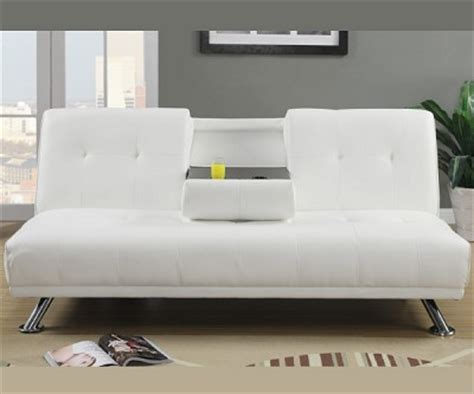 futon with cup holders josh white sofa bed futon with cup holder