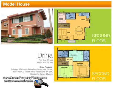 Camella Homes Floor Plan Philippines by Camella Cerritos Davao Davao Property Finder