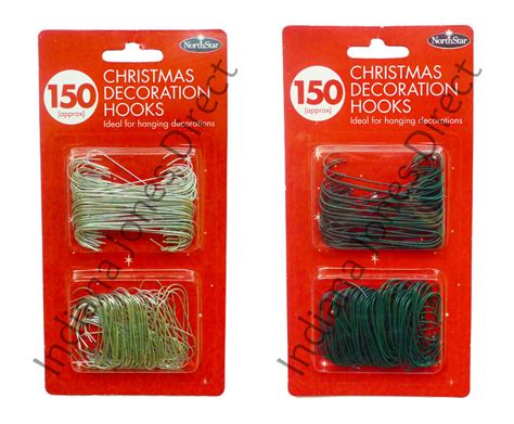 ideas christmas lights aluminum hooks tree 150 ornament hooks decorations bauble branch metal wires hangers ebay